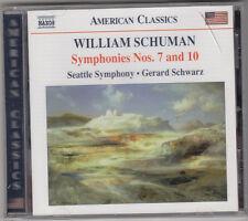 CD-WILLIAM SCHUMAN SYMPHONIES 7 & 8 SCHWARZ-SEATTLE SYM-NAXOS NEW/SEALED