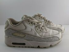 Nike Air Max 90 LTR SE GG- Mens- Size 6- Women 7.5- [897987-100]- White
