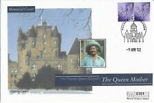GB Clearance 2002 Mercury Queen Mother Glamis Castle Memorial cover