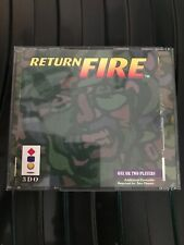 Return Fire & Maps O' Death 3DO Games Uk Boxed No Manuals Double Jewel Case