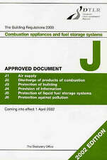 The Building Regulations 2000 Approved Document J (Stationery Office) by Dtlr