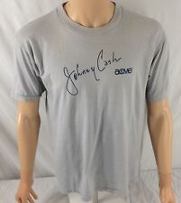 Vtg Johnny Cash T-Shirt Large Acme Cowboy Boots 50/50 Gulf Coast Sportswear
