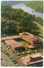 Washington DC Marriott Motor Hotel Key Bridge Vintage Postcard ~