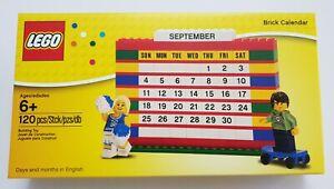 LEGO Brick Calendar - Retired Set 853195 - BRAND NEW IN BOX SEALED - RARE