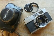 Konica Auto S 2 Rangefinder Camera Hexanon 45mm 1:1.8 Lens NICE BUT