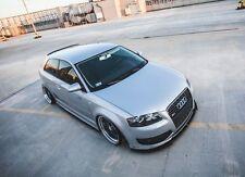 carbon Cup Spoilerlippe für Audi S3 8P Lippe Diffusor Ansatz schwert Spoiler