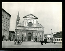 Italie, Florence, basilique Santa Maria Novella Vintage silver print,  Tirage