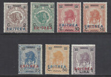 ERITREA  1924 Elefante e Leone soprastampati MNH** (KF)