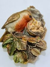 More details for legend products chalkware robins ornament bird hanging figure (like bossons)