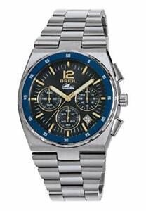 Armbanduhr Breil Manta Sport Herrenuhr Chronograph Quarz Edelstahl Mineralglas