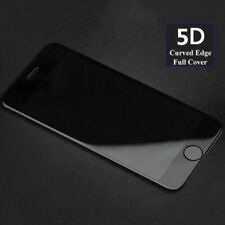 For iPhone 8 5D Curved Edge Tempered Glass Film Full Screen Protector