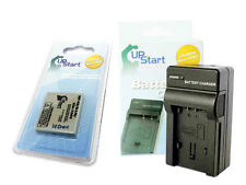 Battery+Charger FUJIFILM Fuji NP-40 Z1 Z2 V10 F470 Pentax T10 A30 A40 D-LI8 DLI8