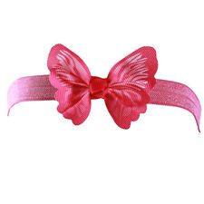 Children Jacobs Bubble Big Bowknot Baby Butterfly Headband Pleuche Hair Band