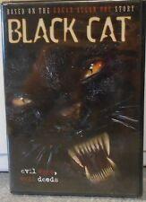 Black Cat (DVD, 2006) RARE HORROR BASED ON EDGAR ALLAN POE STORY BRAND NEW
