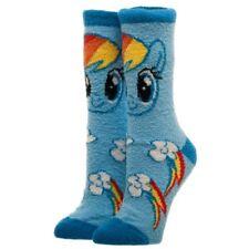 Offizielle My Little Pony Rainbow Dash Fuzzy CREW BED Socken-Einheitsgröße