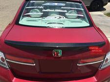 Carbon Fiber OEM type rear trunk spoiler for Honda 2008-2012 ACCORD Sedan @US