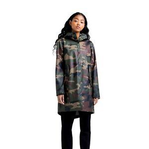 Herschel Rainwear Fishtail Parka Women's Camouflage Activewear Outwear Jacket