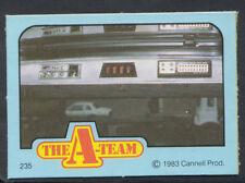 Monty Gum 1983 A-Team TV Series Card - Card No 235 (S123)