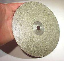 "BUTW (3) 8"" # 600 diamond lapidary faceting flat lap"