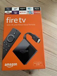 Amazon Fire TV 4K Ultra HD 3rd Gen with Alexa Voice Remote 2GB pendant