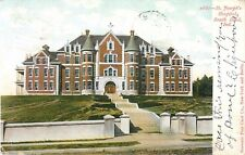 1906 St Joseph's Hospital, South Bend, Indiana Postcard