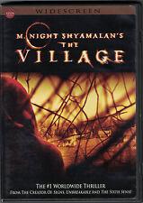 THE VILLAGE DVD - M. Night Shyamalan's WIDESCREEN - FREE SHIPPING