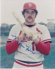MARC HILL    ST. LOUIS CARDINALS   ACTION SIGNED 8x10