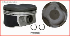 Engine Piston Set ENGINETECH, INC. P4021(8)STD