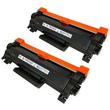 2 Black Toner Cartridge compatible with Brother HL-L2370DN HL-L2370DW HL-L2350DW
