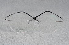 Titanium round Steve Jobs Eyeglasses frame men silver glasses RX optical eyewear