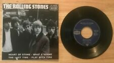 RARE FRENCH EP THE ROLLING STONES HEART OF STONE