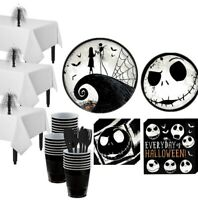 NIGHTMARE BEFORE CHRISTMAS Party Supplies Bundles (See Selections) NEW