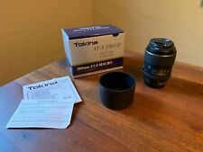 Tokina AT-X PRO D 100mm F2.8 MACRO LENS For Nikon - MINT CONDITION