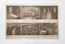 Vintage Adv POSTCARD Charles Fuller Gospel Broadcast P301