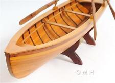 FULLY ASSEMBLED Boston Whitehall Tender Wooden Model Boat