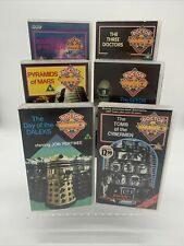 More details for dr who vhs tapes x6 - seed of death - tomb of the cyberman - day of the daleks +