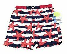 Sol Toddler Boys Multi Color Swim Shorts Size 4