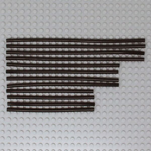 Lego 12x Genuine Technic Pneumatic Tubes Hoses Pipes from 42100 Liebherr R NEW