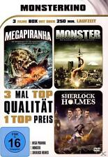 Monsterkino-Megapiranha/Monster/Sherlock Holmes (2012) DVD