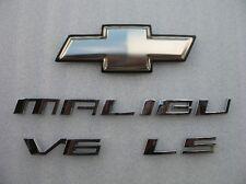 2008 CHEVROLET MALIBU LS V6 REAR CHROME EMBLEM LOGO BADGE SIGN 04 05 06 07 08