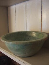Antique 206 BC - 220 AD Chinese Green Glazed Terracotta Bowl - Hang Dynasty