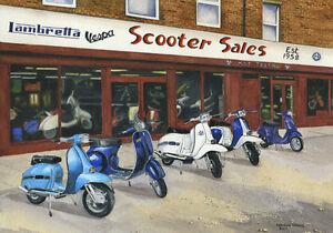 Join the Joyride - Scooter, Vespa, Lambretta Print