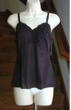 Dixie Belle Femine Perfection 100% Nylon Black Cami Size 36