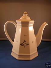 Early Retired Pfaltzgraff Coffee Pot with Lid