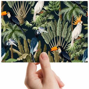 "Tropical Birds Parrot Jungle Small Photograph 6"" x 4"" Art Print Photo Gift #2026"