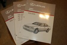 1997 Lexus GS 300 Repair Manual, Electrical Wiring Diagrams, New Features Manual