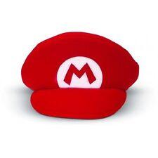 Casquette rouge de Super Mario licence rubies 49763 déguisement carnaval costume