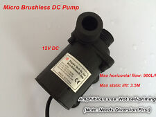 Small Water Pump 800A-A for Water Circulation Aquarium Submersible 900LPH 3.5M