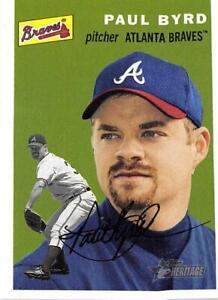 Paul Byrd 2003 Heritage #367 SP Atlanta Braves BX H1C-367