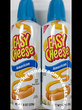 TWO Cans of Kraft Easy Cheese American Flavour 226g American Import